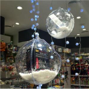 Esferas para escaparate