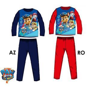 Pijama infantil Patrulla Canina (Paw Patrol) Invierno algodón 100%