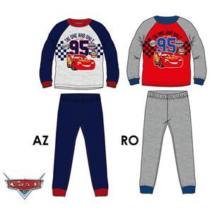 Pijama infantil Disney Cars invierno algodón 100%