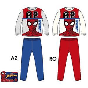 Pijama infantil Spiderman invierno algodón 100%