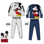 pijama niño mickey mouse, pijama invierno mickey mouse