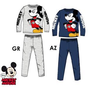 Pijama infantil Disney Mickey Mouse invierno algodón 100%