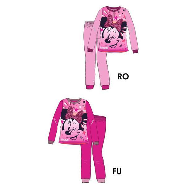pijama minnie térmico, pijama minnie polar, pijama invierno minnie