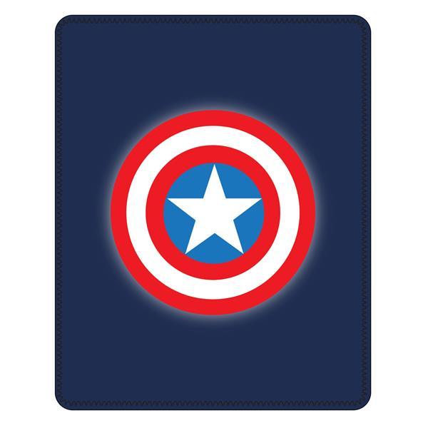 manta capitán américa, plaid capitán américa, manta sofá avengers