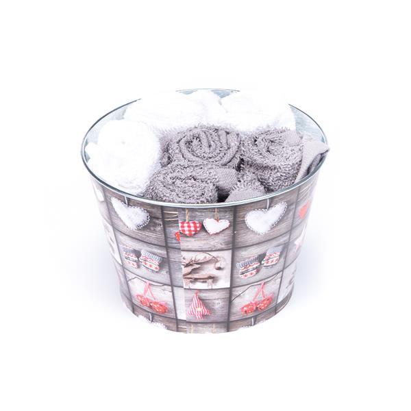 toalla cortesía blanca, toalla cortesía gris, regalo toallas cortesía, regalo toallas baño