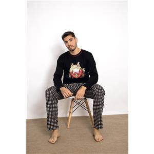Pijama hombre Kukuxumusu invierno Algodón 100%
