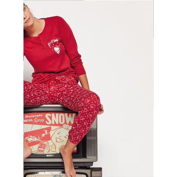 pijama chica hello kitty, pijama regalo mujer, pijama hello kitty mujer