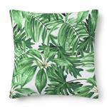 cojines de hojas verdes, cojin hojas, estilos de cojines decorativos, cojines de hojas, cojines hojas tropicales
