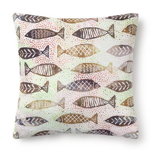 cojines beige, cojin peces, cojin pez, cojin peces, cojines de peces
