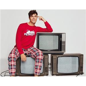 Pijama hombre Snoopy invierno