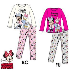 Pijama infantil Disney Minnie Mouse y Daisy invierno algodón 100%