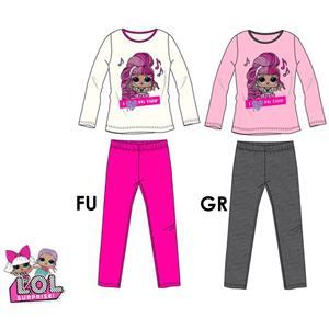 Pijama infantil Lol Surprise invierno algodón 100%