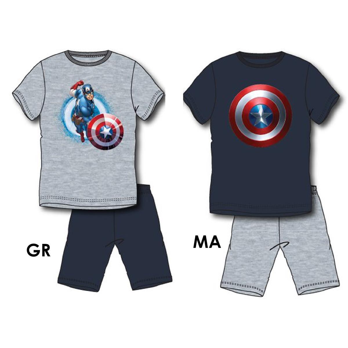 auténtico auténtico auténtico auténtico Descubrir Pijama hombre avengers (los vengadores) verano