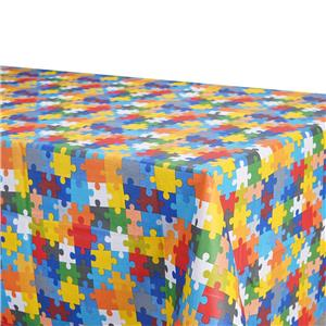 Mantel antimanchas geométrica colores