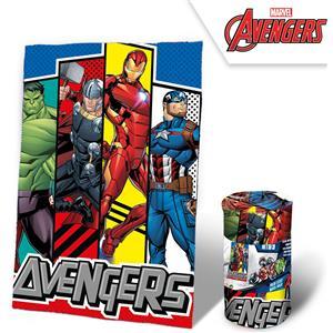 Manta plaid polar avengers (los vengadores) Iron Man, Thor, Hulck y Capitán América