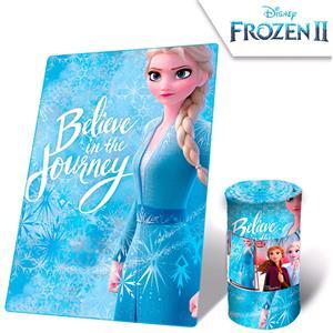 Manta plaid polar disney frozen II Elsa