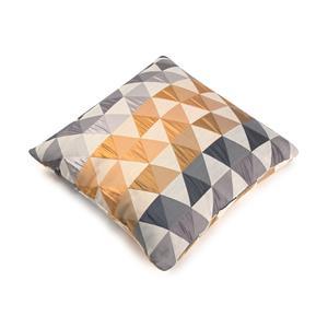 Cuadrante o cojín decoración triángulos + relleno