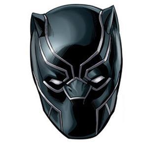 Toalla playa black panther avengers forma