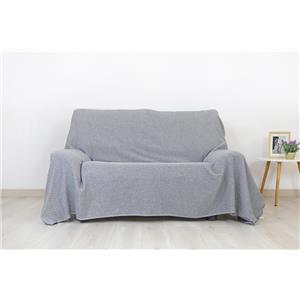 Colcha o foulard multifunción rombos para cama o sofá reciclado con flecos