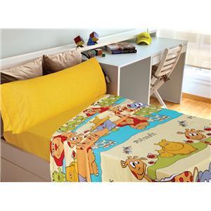 Juego de sábanas estampado infantil animales