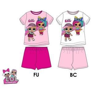 Pijama niña lol surprise verano algodón 100%