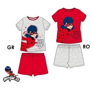 Pijama niña ladybug verano algodón 100%