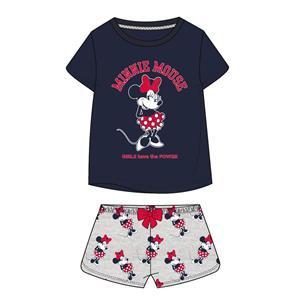 Pijama niña y adolescente Minnie verano algodón 100%