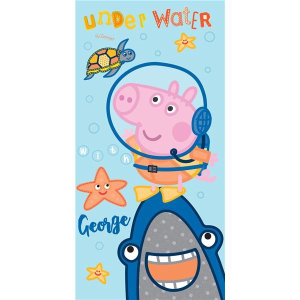 toalla playa george pig, toalla playa peppa pig