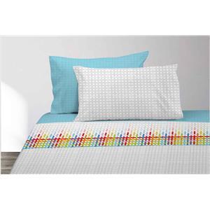 Juego de sábanas estampado colores Manterol