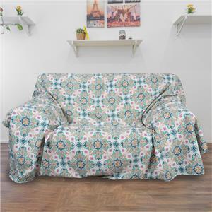 Colcha o foulard multifunción ornamental cama o sofá