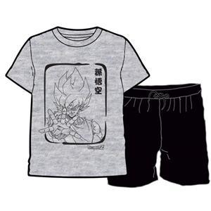 Pijama niño dragon ball verano algodón 100%