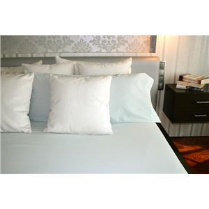 Funda nórdica estampado lencero aguamarina algodón 100% 2 piezas