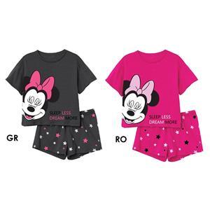 Pijama niña y adolescente minnie mouse disney verano algodón 100%