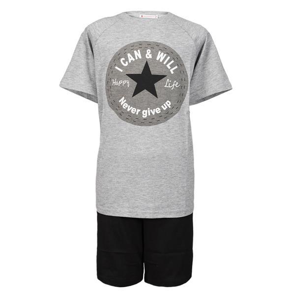 pijama niño verano estrella, pijama manga corta niño estrella