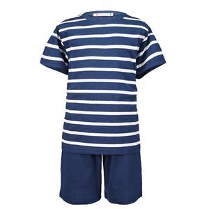 Pijama hombre rayas azules verano