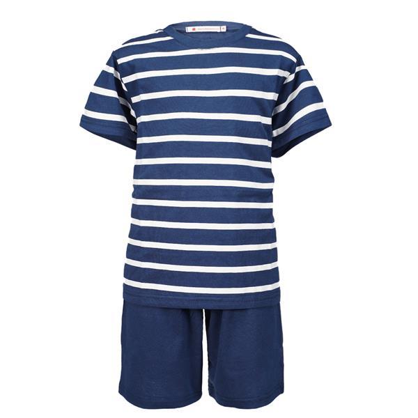 pijama azul marino hombre, pijama verano azul