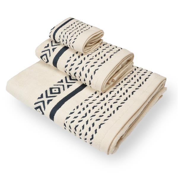 toalla decoración cenefa, toalla buena, toalla inca,toalla étnica