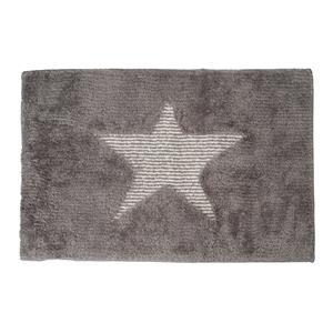 Alfombra baño/habitación estrella microfibra antideslizante