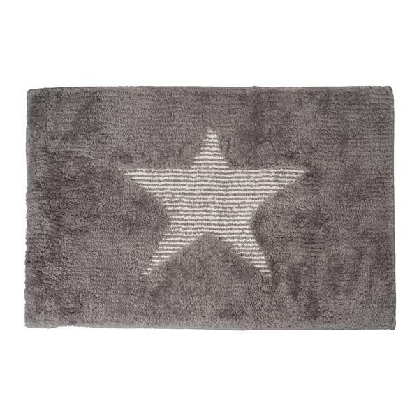 alformbra baño gris, alfombra gris, alfombra estrella, alfombra barata, alfombra moderna de baño, alfombra suave