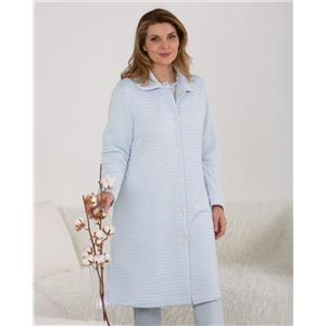 Bata mujer invierno celeste homewear