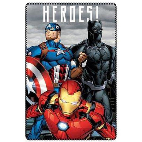 manta sofá avengers, manta sofá iron man, manta sofá black panther, manta sofá capitán américa