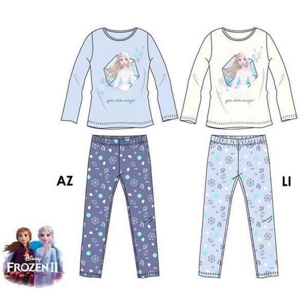 pijama elsa frozen, pijama manga larga elsa