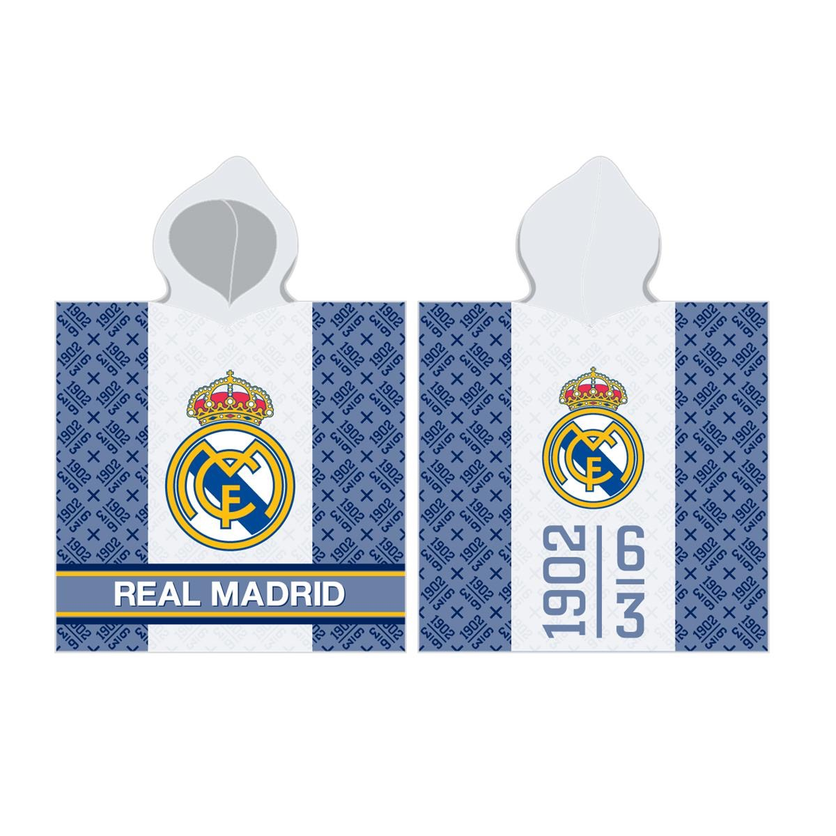 Real Madrid Poncho toalla