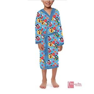Albornoz infantil disney mickey microfibra