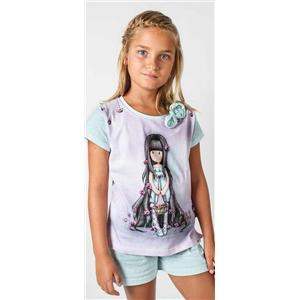 d1edb0437 Pijama niña o chica santoro gorjuss algodón 100% verano